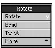 The Rotate category contains your basic rotation tools, as well as some cool extras like Vortex.