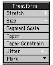 The Transform toolset is the place to find Size/Scale tools.