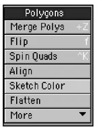 Tools in the Detail tab's Polygons category, such as Fix Poles (found in the category's More dropdown), give you great control over those nasty polygons.
