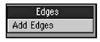Tools for creating detailed polygon edges can be found in the Edges category of the Detail tab.