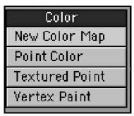 The Color category gives you access to tools that can help you manipulate the color of an object's vertices, or points.