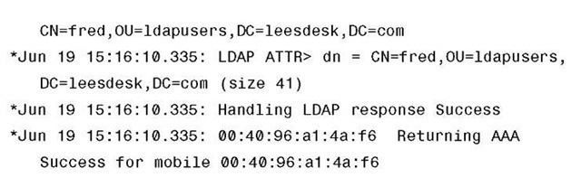 Successful LDAP Bind
