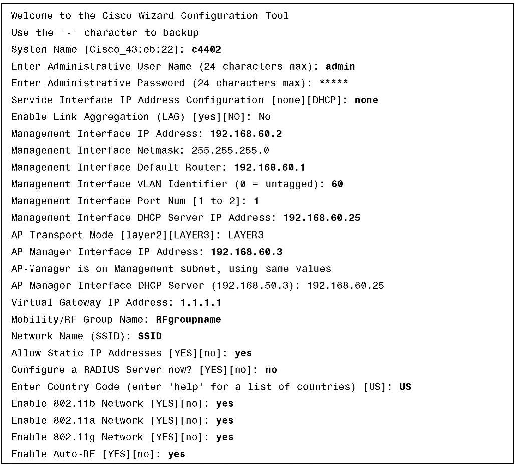 Overview and Configuration (Cisco Wireless LAN Controllers)