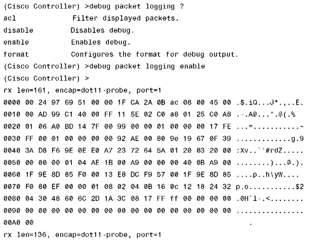 Troubleshooting on the WLC (Cisco Wireless LAN Controllers