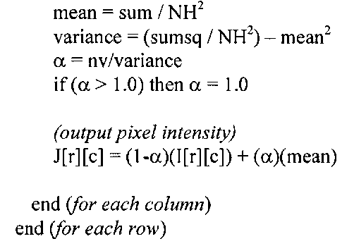 Algorithm 4-2: MMSE Adaptive Filter