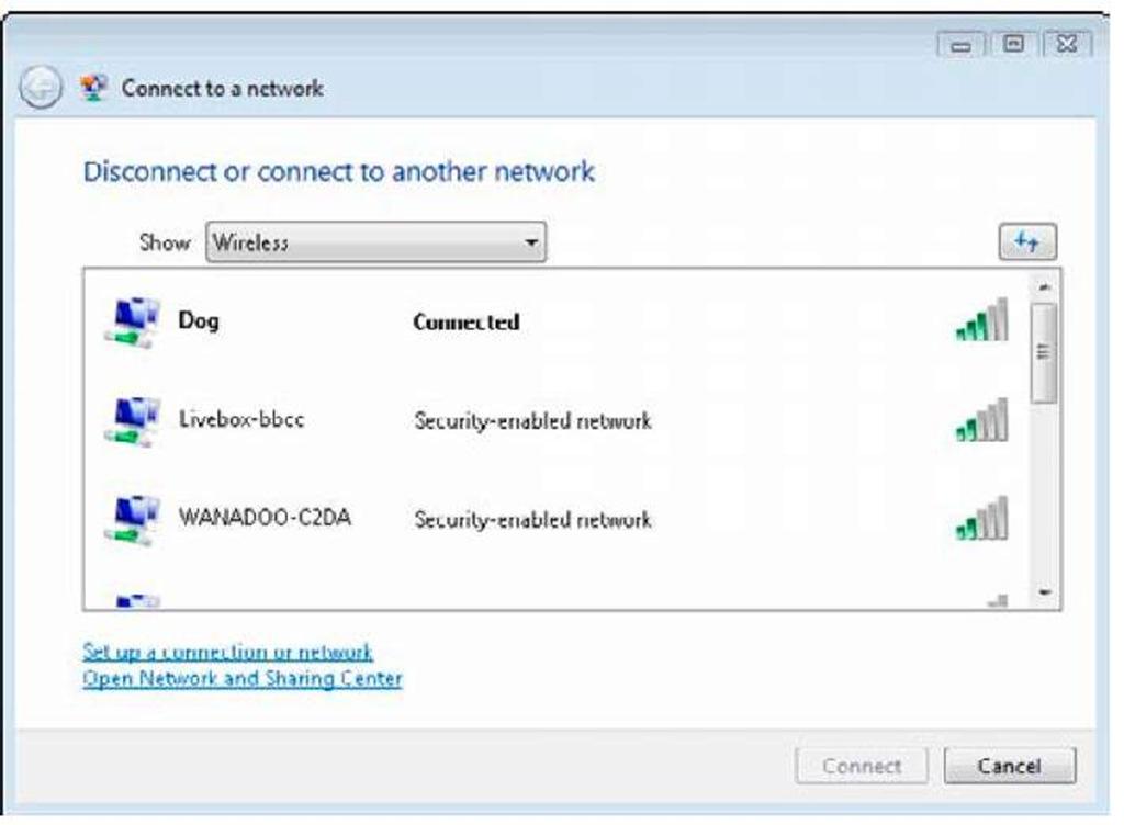 Сети (см. рис. 6). Здесь нужно указать пароль, который используется