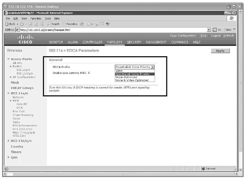 SpectraLink and Vocera Deployments (Cisco Wireless LAN