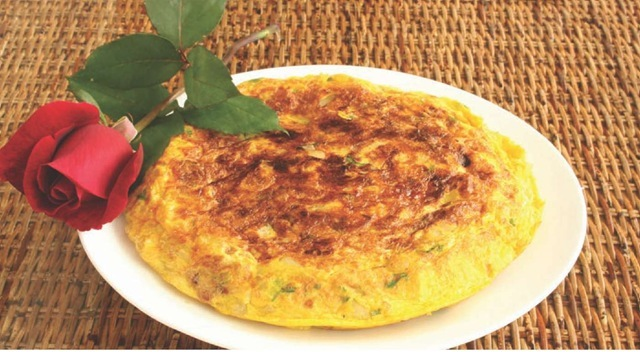 Tortilla espanola is a versatile dish that's easy to make. It can be eaten hot or cold, anytime, anywhere. And most people love it!
