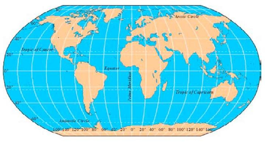 Globe maps and lines of latitude finding your way in the world wireless part 1 sciox Choice Image
