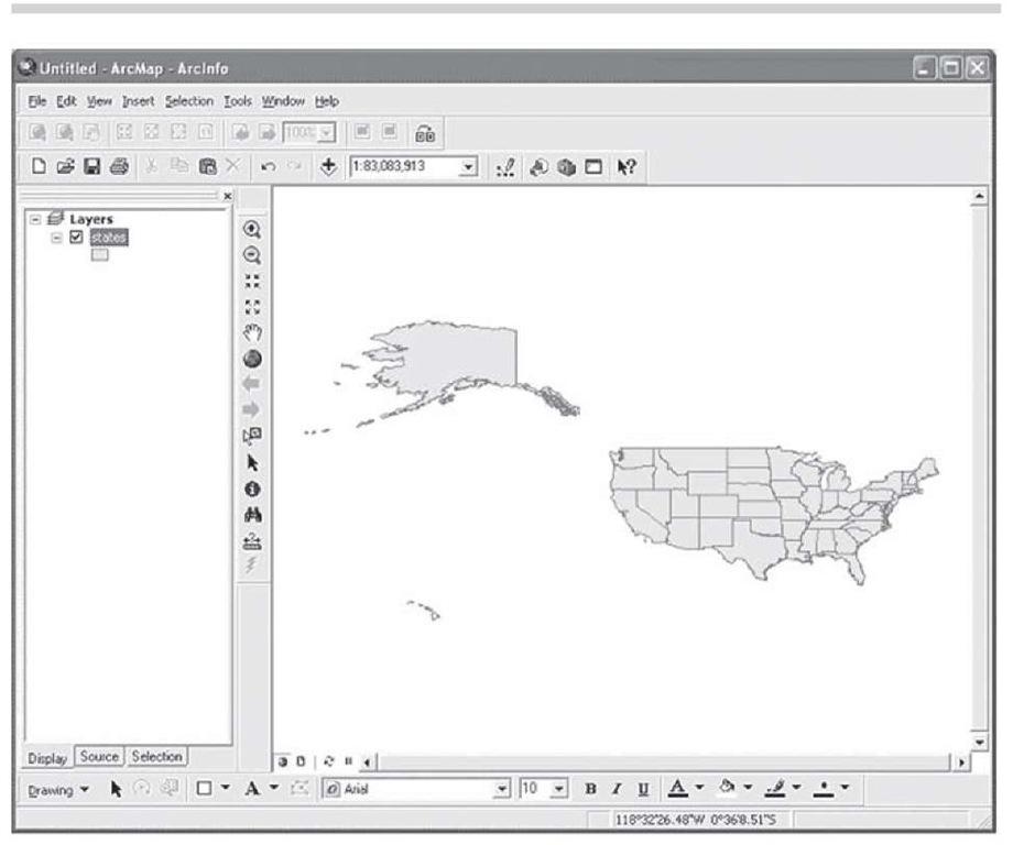 A basic map