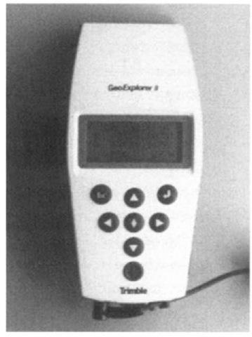 The GeoExplorer II GPS receiver from Trimble Navigation.