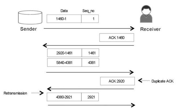 The TCP Misordering and Duplicate ACK