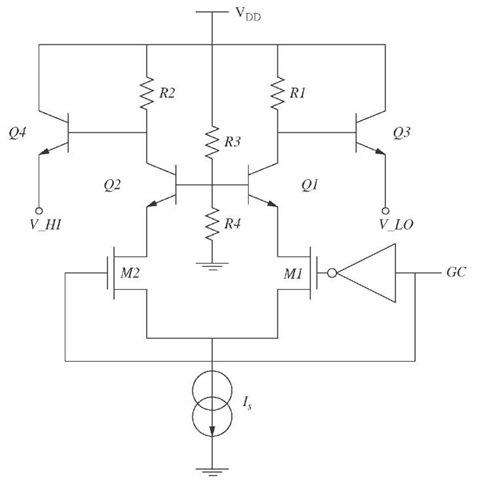 Gain selection circuit