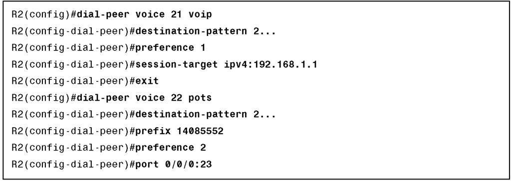 Toll-Bypass Configuration Example
