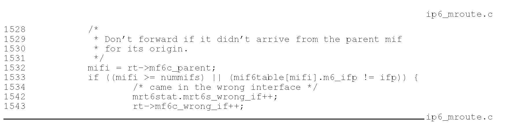 IPv6 Multicast Forwarding Part 3