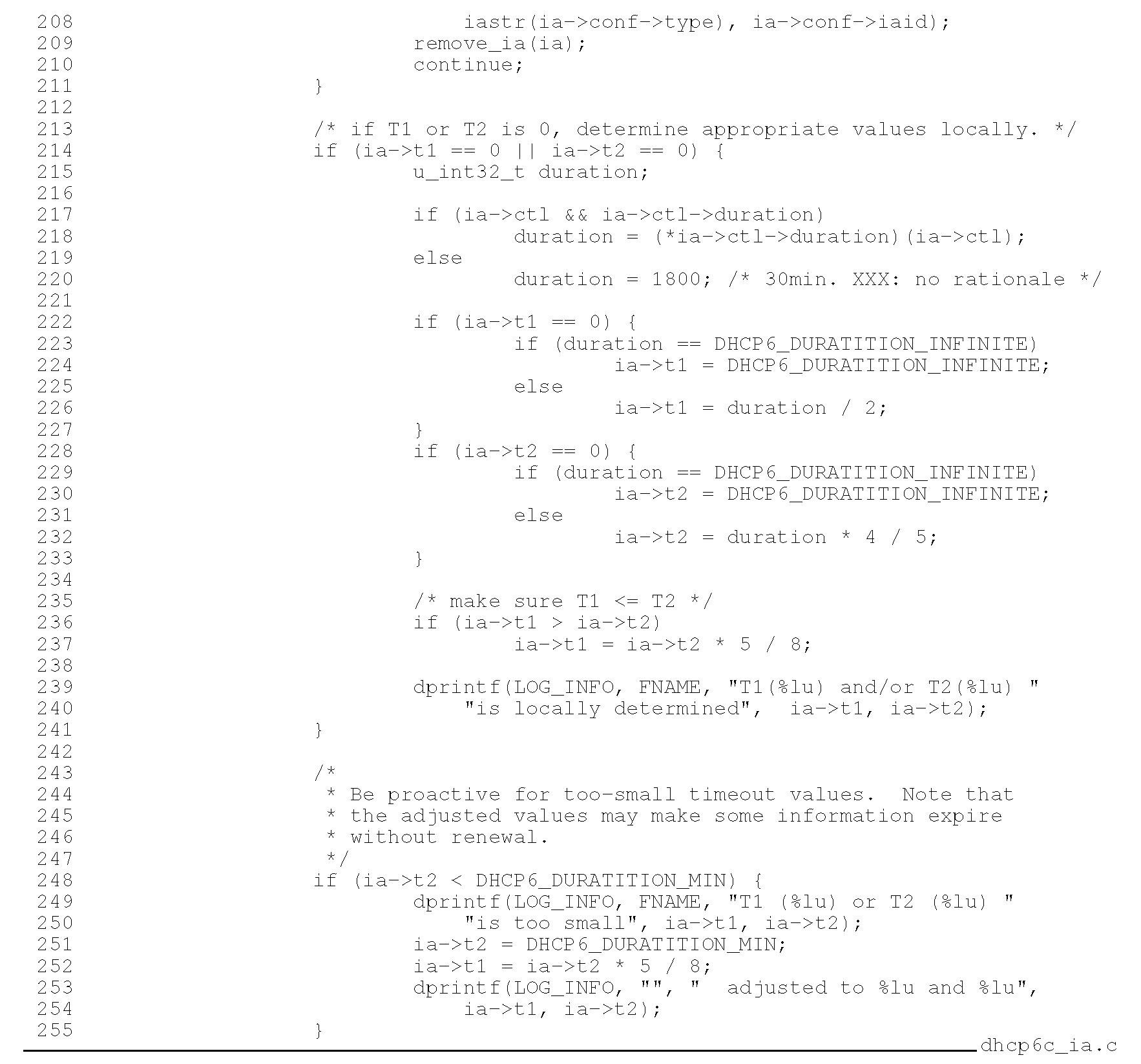 Client Implementation (DHCPv6) (IPv6) Part 6