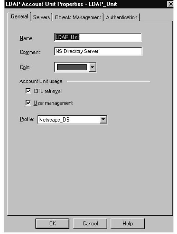 Standard LDAP (Advanced Authentication) (Check Point) Part 1