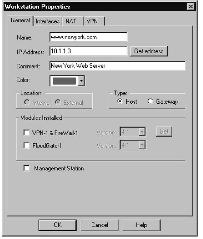 Web Server Object