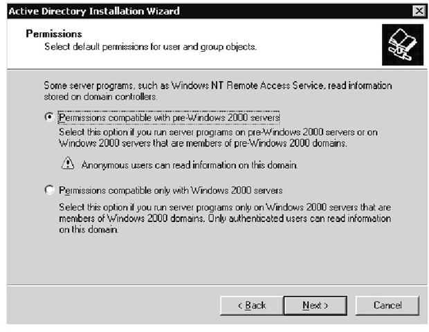 Переход с системы Windows NT 4.0 на Windows 2000.