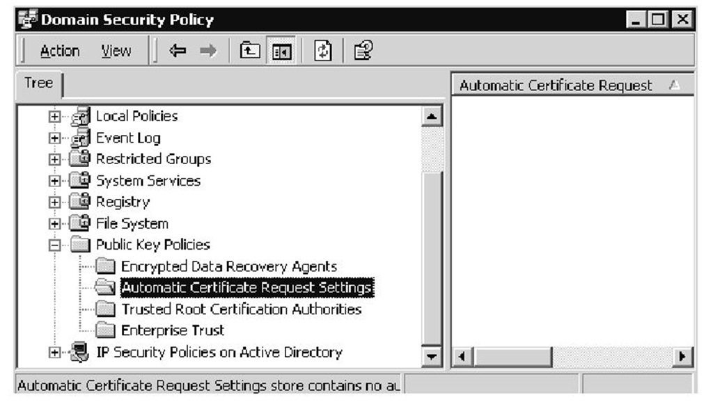 Active directory advanced authentication check point part 4 automatic certificate request settings yadclub Gallery