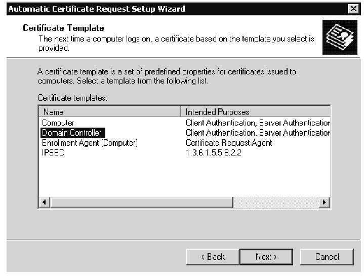 Active directory advanced authentication check point part 4 certificate templates yadclub Gallery