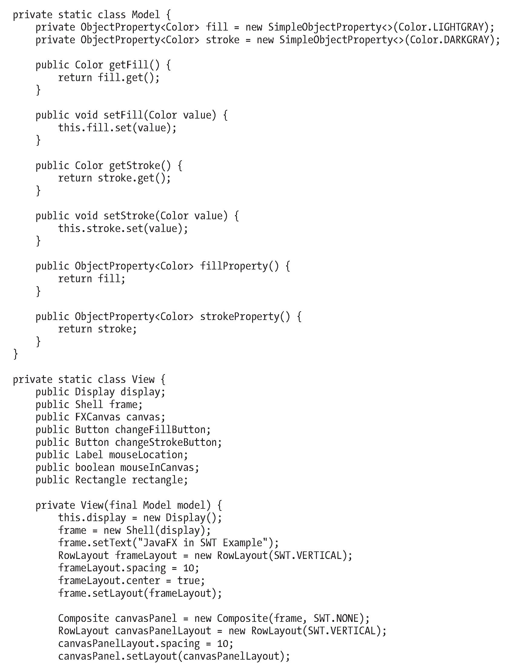 Embedding javafx scenes in swing and swt applications collections javafxscenelnswtexamplejava baditri Choice Image