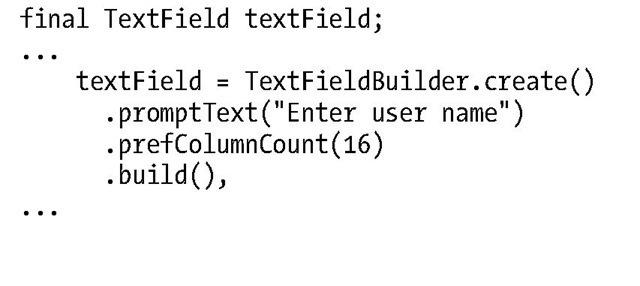 Leveraging the JavaFX UI Controls (Using the JavaFX UI