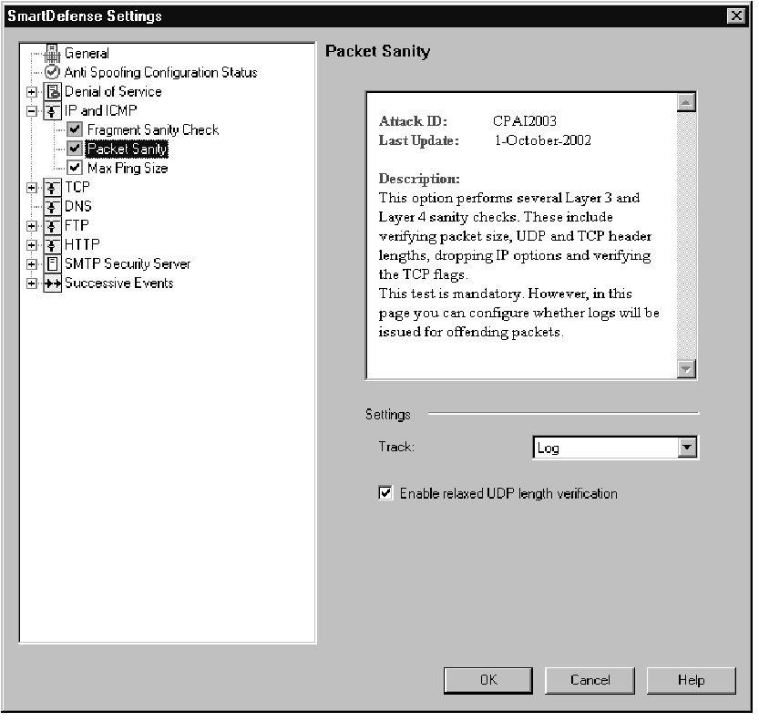 Understanding and Configuring SmartDefense (Check Point) Part 2