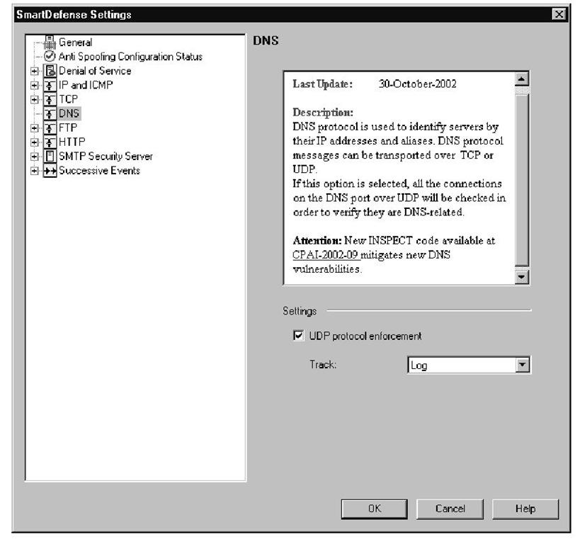 DNS Protocol Enforcement