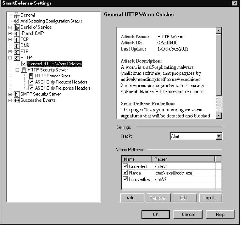 General HTTP Worm Catcher