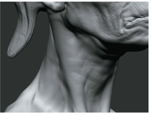 Details and Layers (ZBrush for Detailing) (ZBrush Character