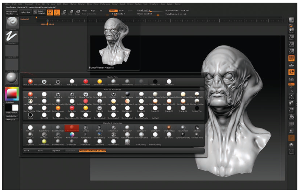 Details and Layers (ZBrush for Detailing) (ZBrush Character Creation