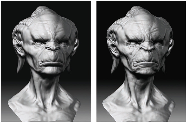 Form and Details (ZBrush for Detailing) (ZBrush Character