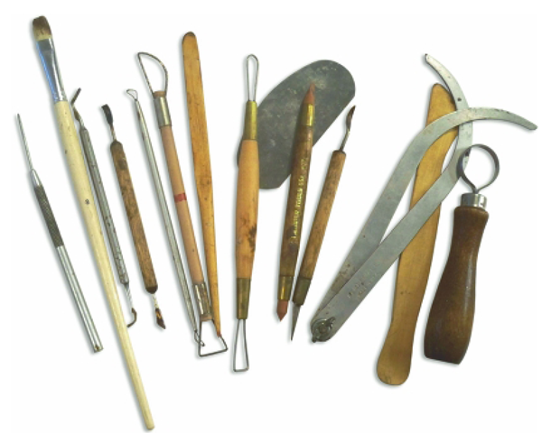 Traditional Sculpting Tools Come in a Variety of Sizes and Shapes.