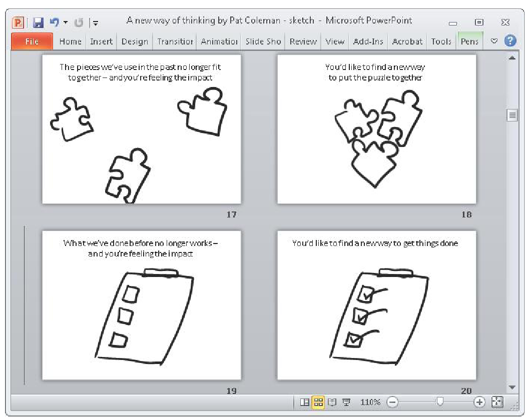 Sketching Your Storyboard (Using Microsoft PowerPoint) Part 2
