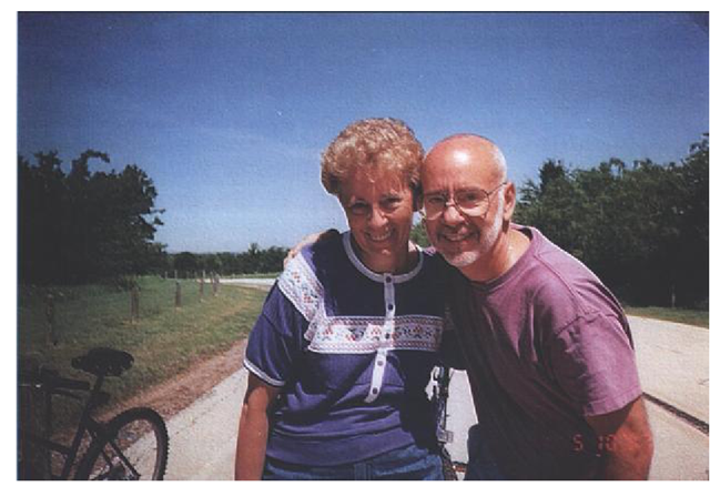 A family photo of Bob and Carol showed the happy couple after they were married.