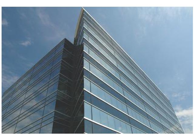 Next Mark showed a photo of the headquarters building of the pharmaceutical company, similar to this, and told jurors that the evidence in the case would lead to the company's doorstep.