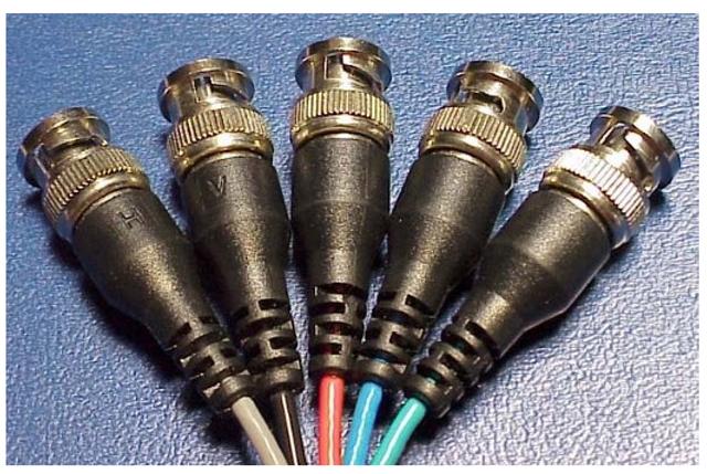 BNC connectors.