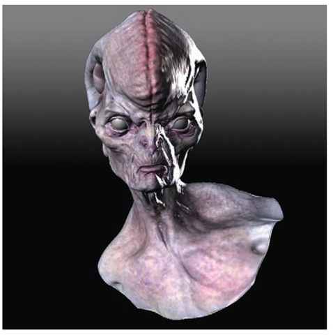 Exporting Directly from ZBrush to Maya Using GoZ (Normal