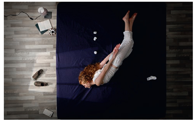 Still from the music video, Her Morning Elegance, directed by Oren Lavie and Yuval and Merav Nathan.
