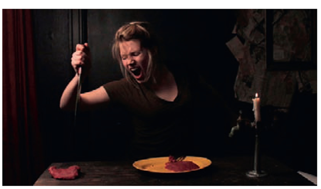 Image from Meat!, Lindsay Berkebile, 2010.