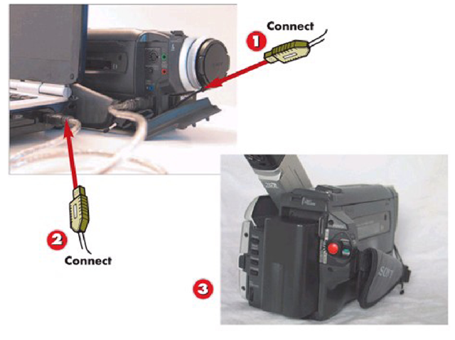 Connecting a Digital8 Camcorder to Your PC with FireWire