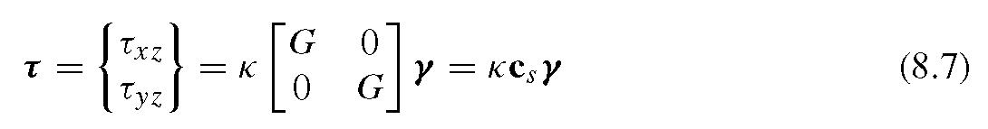 strain energy formula