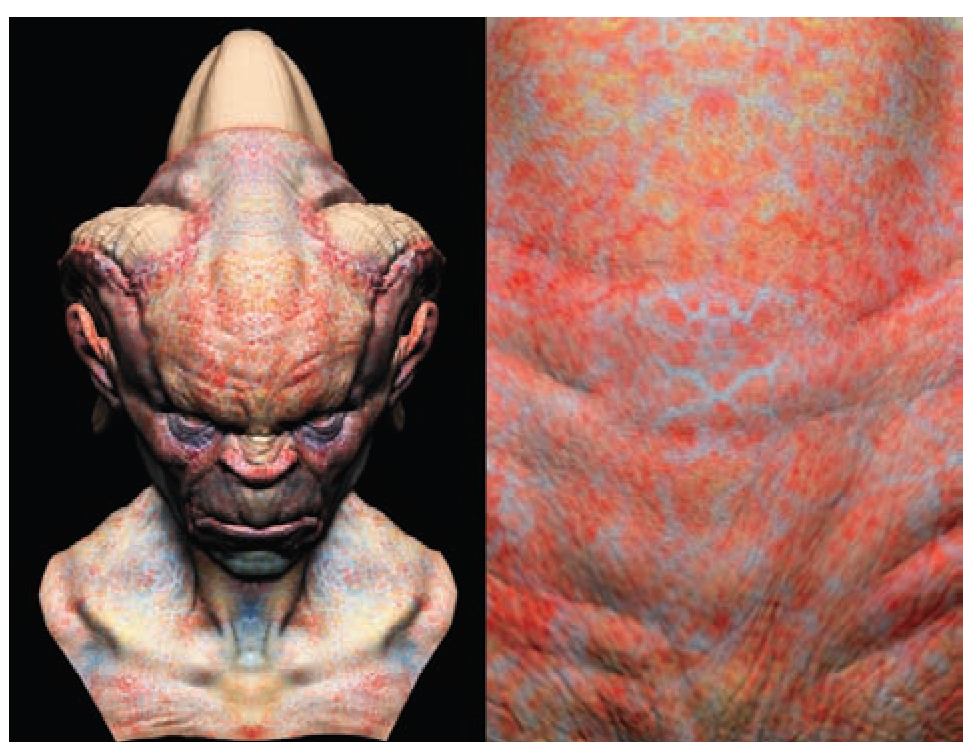 Painting a Creature Skin (Texture Painting) (ZBrush