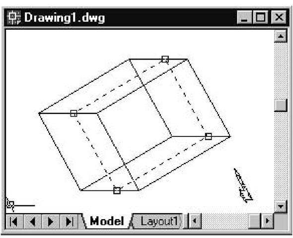 Cross-Sectioning 3D Solids (Creating and Drawing 3D Solids) (AutoCAD