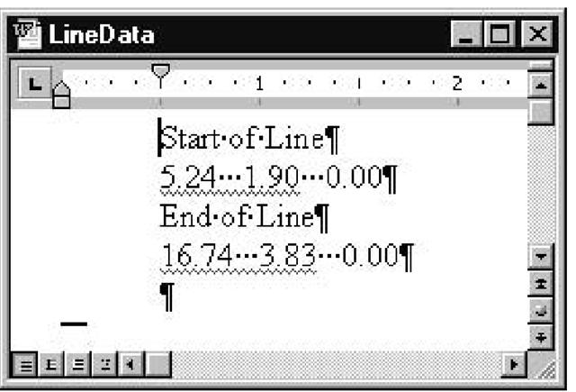 Exchange between AutoCAD and Word (ActiveX Controls) (AutoCAD VBA)