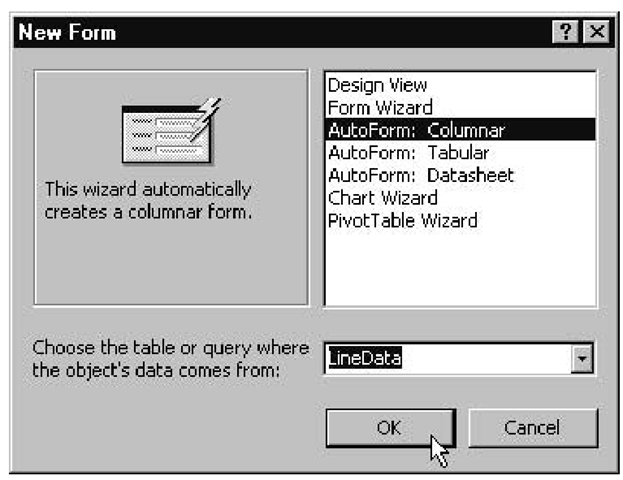 Exchange Between AutoCAD and a Database (ActiveX Controls