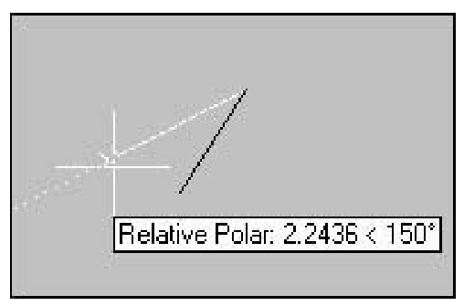 Drawing Lines With Polar Tracking : Interactive drawing techniques for precision working with