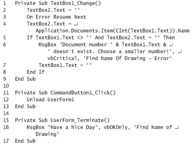 AutoCAD Document Objects (The AutoCAD Object Model) (AutoCAD VBA)