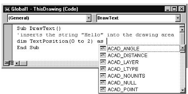 Creating a Macro to Add Text to a Drawing (AutoCAD VBA) Part 1